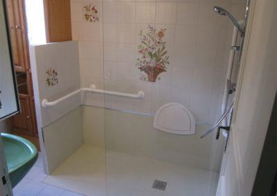 Adaptation Salle de bains pour PMR